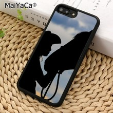 MaiYaCa Cowgirl and Horse Silhouette Phone Case Cover for iPhones SE 6 6s 7  8 X cb136b69b081