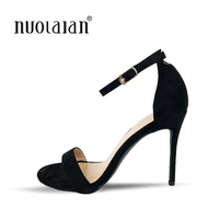2018 Newest Women Pumps Shoes Celebrity Wearing Simple Style Sexy Thin Heels Pumps Sandal High Heels