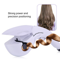 Professional Mini Automatic Hair Curler Styling Tool Button Type Magic Electric Hair Roller Hair Curlers US