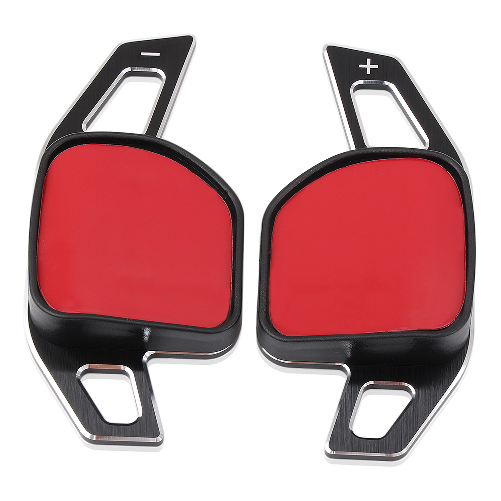 Image 5 - Car Steering Wheel DSG Paddle Extension Shifters Shift Sticker Decoration Fit For Seat Alhambra /Ateca /Leon FR/ Leon /Leon 4 5F-in Car Stickers from Automobiles & Motorcycles