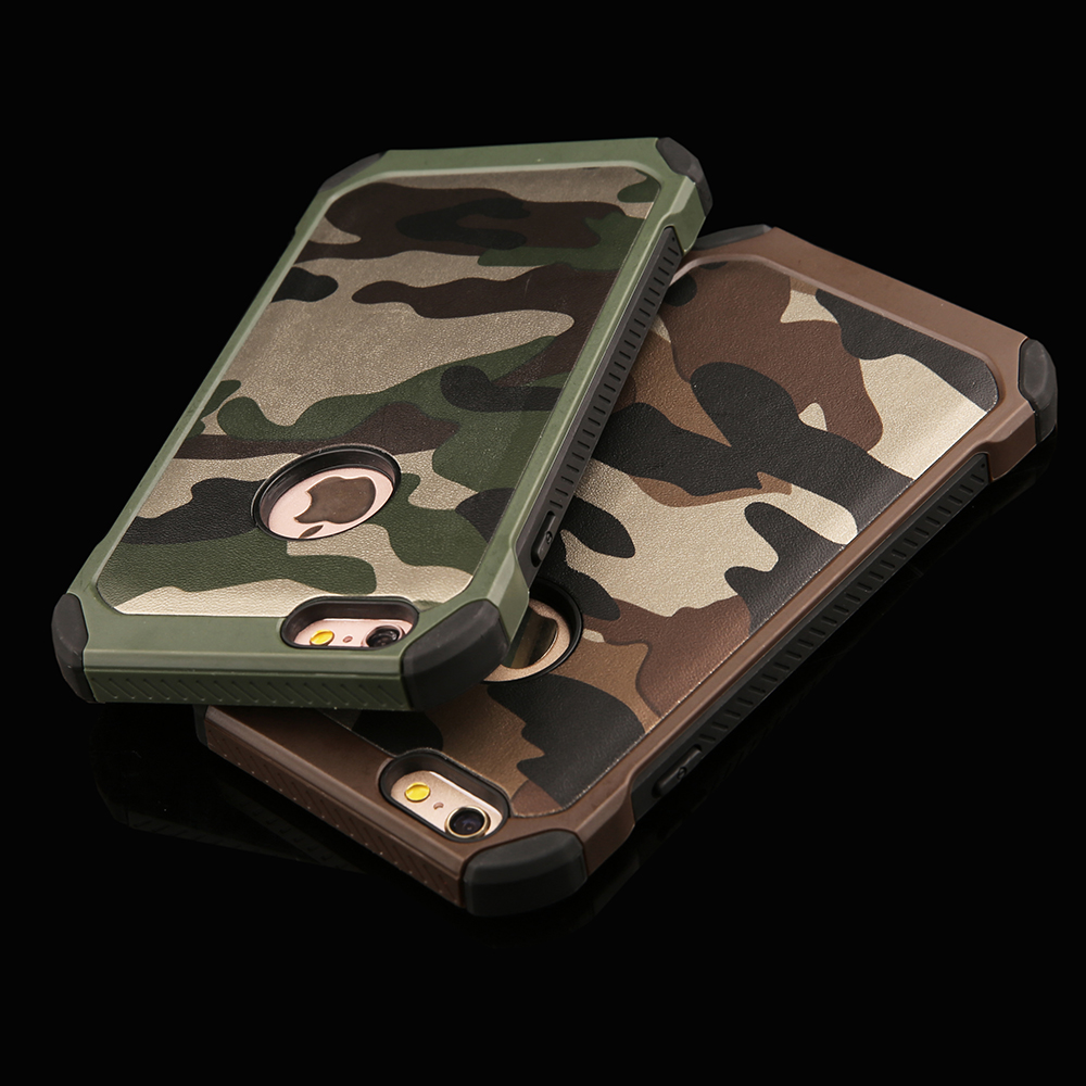 camo iphone 5 case 2 in 1 army camouflage phone cases for iphone 4s 5 5s se 6 6460