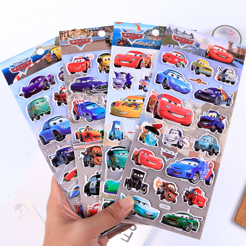 Disney children cartoon stereo 3d stickers kindergarten reward stickers cute car mobilization bubble stickers kids stickers toyDisney children cartoon stereo 3d stickers kindergarten reward stickers cute car mobilization bubble stickers kids stickers toy