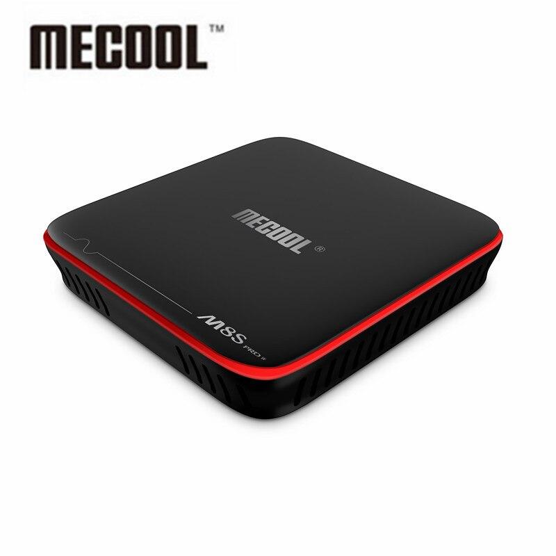 DHL MECOOL M8S PRO W Android TV Box S905W smart tv box Quad core set-top box 3D 4K mutil media player Miracast/DLNA tv receiver himedia m3 quad core android tv box home tv network player 3d 4k uhd set top box free shipping