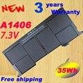 """Envío gratis Nuevo 7.3 V 35WH 4680 mAh batería A1406 Genuino para Apple Macbook Air 11 """"A1370 020-7376-A BH302LL/A MC965LL/A"""