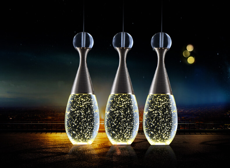 New Fashion Modern K9 Crystal LED Pendant Lights Hanglamp Lustre Fixtures For Bar Cafe Dining Home Lightings Lamparas Colgantes new fashion modern k9 crystal led pendant lights hanglamp lustre fixtures for bar cafe dining home lightings lamparas colgantes