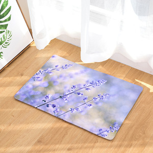 Image 1 - CAMMITEVER Lavender Dandelion Rose Cactus Rose Area Rug Kitchen Mat Entry Way Bath Doormat Bedroom Carpet Machine Washable