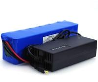 VariCore 48 ボルト 6ah 13s3p ハイパワー 18650 バッテリー電気自動車電動バイク DIY バッテリー 48 ボルト BMS 保護 + 2A 充電器 バッテリーパック 家電製品 -