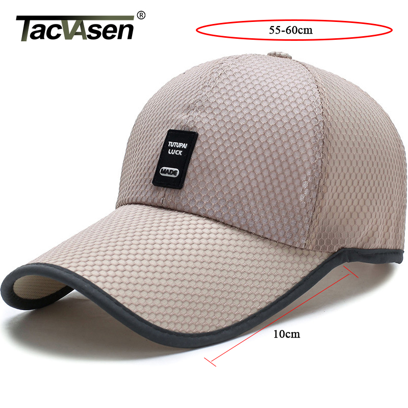 TACVASEN Men Tactical Baseball Cap Lightweight Mesh Dad Hat Sun-proof Hat Caps Men Women Adjustable Hunt Camp Baseball Caps