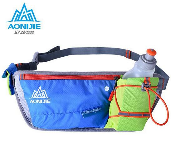 2016 AONIJIE Outdoor Run Ride Movement Pockets Marathon Kettle Purse Male Phone Package Female Super Light