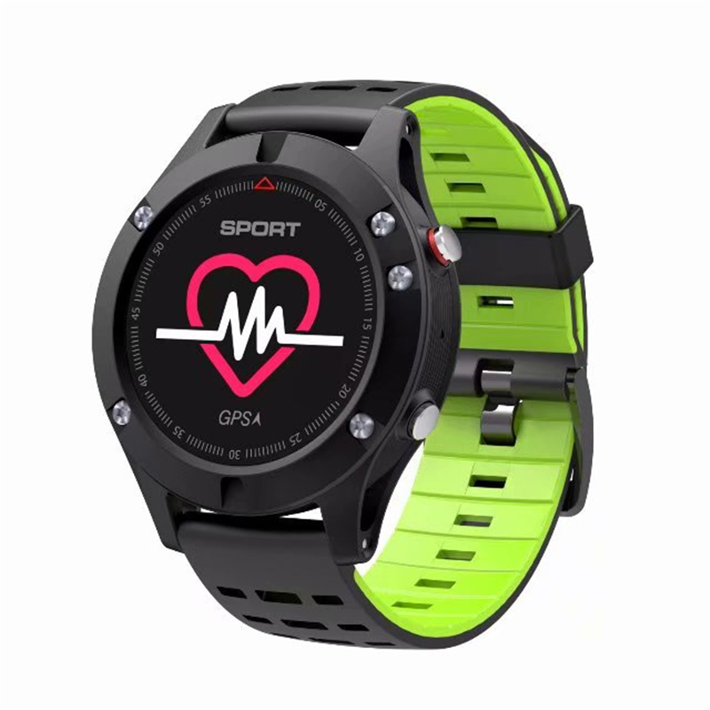 F5 GPS Smart Band Electronics Wearable Devices Acticity tracker Heart Rate Smart Watch Altimeter Barometer Thermometer dtno i f5 gps smart watch wearable devices activity tracker bluetooth 4 2 altimeter barometer thermometer gps sport watch