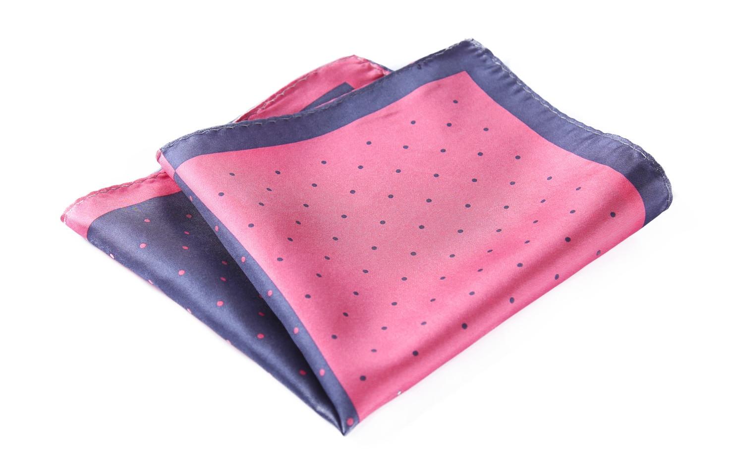 HN14K Handkerchief 100% Natural Silk Satin Mens Hanky Wedding Pocket Square
