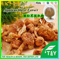 GMP cetifited bulk agaricus blazei extract 30% for anti-tumor and cancer powder 500g/lot