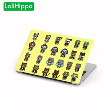 LoliHippo Halloween Series Laptop Protective Hard Case for Apple Macbook Air Pro 11 12 13.3 15.4 Inch Computer Notebook Cover
