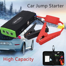 Новый мощный портативный автомобильный прыжок стартер мульти-функция автомобиля аварийный блок питания зарядное устройство бустер для автомобиля батарея пусковое устройство