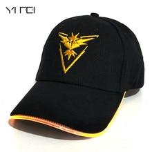 YIFEI 2018 Team Valor Team Instinct Pokemon Baseball Cap for
