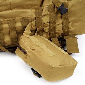 Image 4 - ניילון 50L צבאי טקטי תרמיל עמיד למים קמפינג טיולי תרמיל צבא תרמיל חיצוני ספורט דיג ציד טיפוס תיק