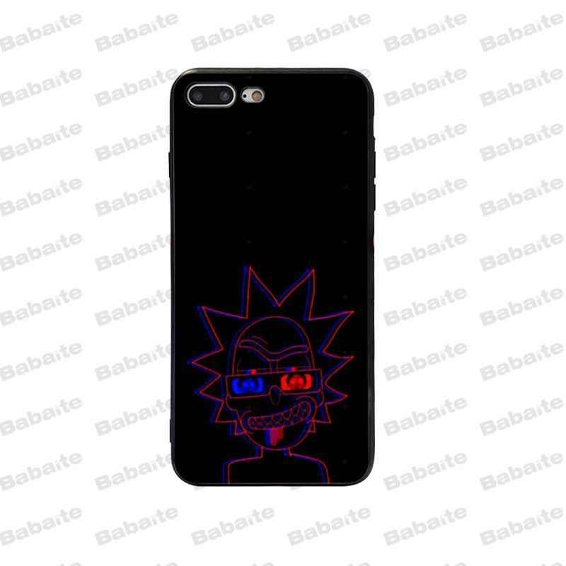 Babaite Рик и Морти высокое качество роскошные чехол для телефона для Apple iPhone 5 5S 6 6S 7 8 Plus X XS Макс SE XR крышка мобильного