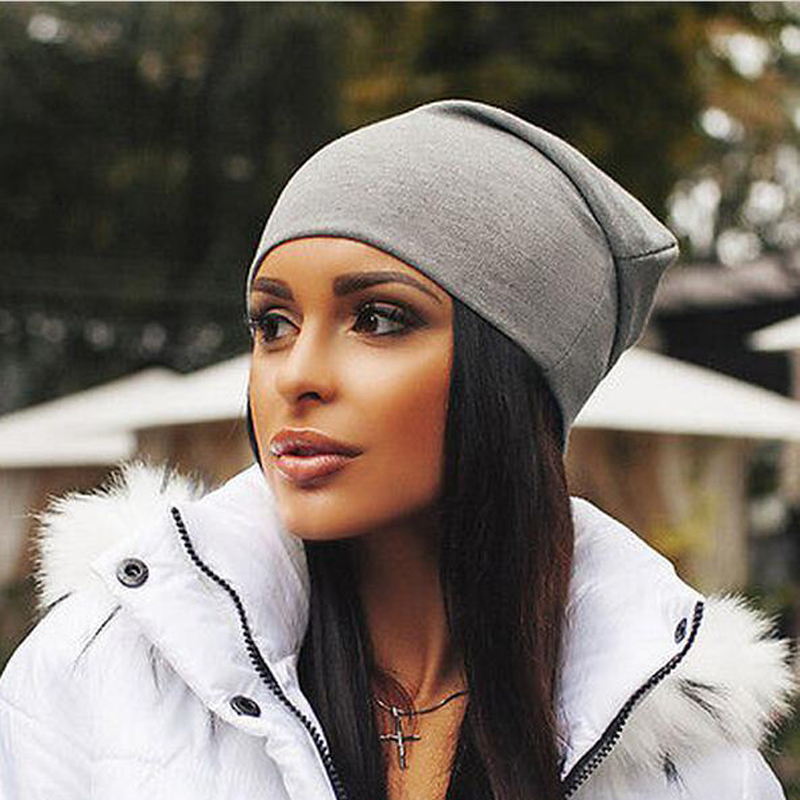 2019 Spring Autumn Turban Cap Casual Unisex Hip-Hop Cap Turban Solid Color Knit   Beanie   Hats For Women Men Winter   Beanies   Caps