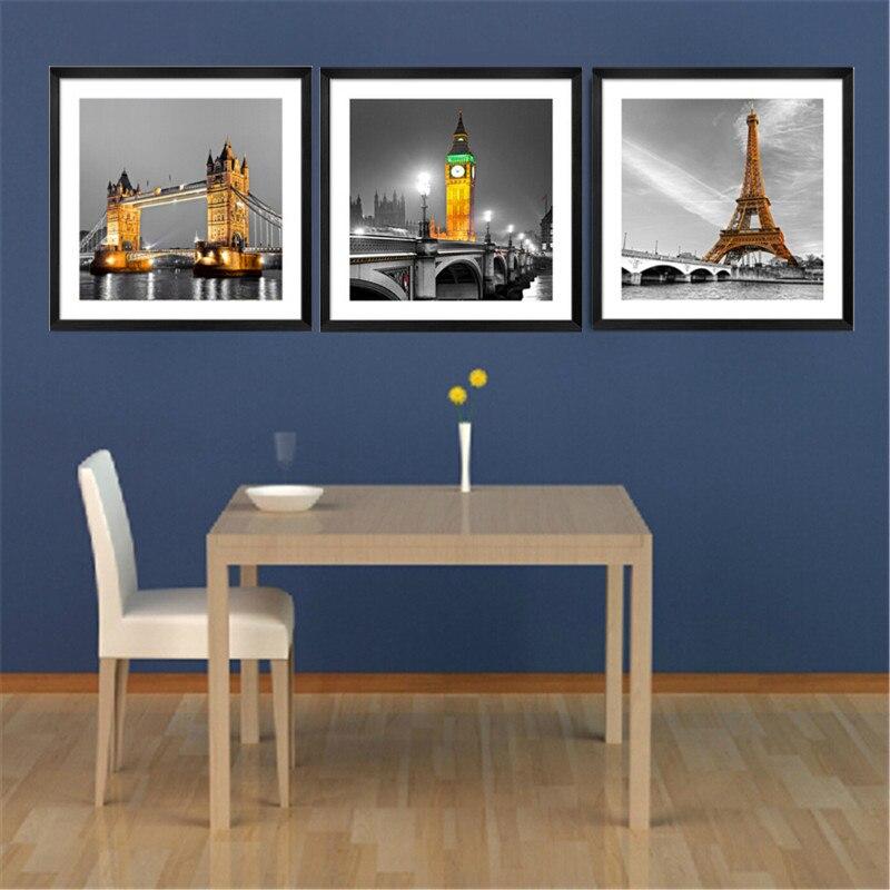 ᗑCuadros Fallout 3 panel moderno París Torre Eiffel imagen de la ...
