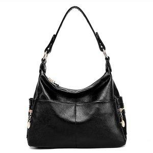 Image 5 - Женская сумка из натуральной кожи в стиле ретро, дамская сумочка на плечо, Женский мессенджер через плечо, дамские тоуты