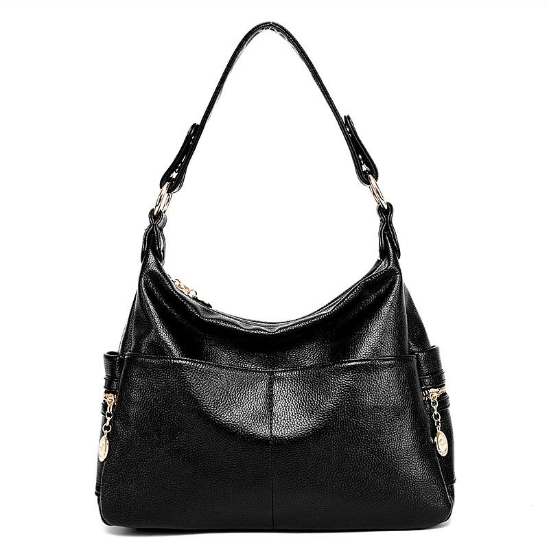 Image 5 - Genuine Leather Retro Women Bag Ladies Satchel/Shoulder Bag Women  Crossbody Messenger Bag Female Handbags Totes Bolsas Femininabolsa  femininabag women crossbodyfemale handbags