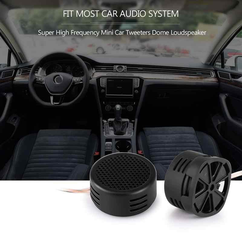 Onever رائجة البيع 2 قطعة مكبر صوت صغير عالمي عالية التردد سيارة مكبر صوت بصوت عال سوبر قوة الصوت السيارات الصوت مكبر الصوت