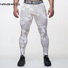 2016 camo mens compression pants high elastic mens joggers fitness clothing tights leggings bottoms