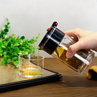 Doppia parete di Calore Vetro Resistente Kung Fu Tea Set Elegante tazza Tazza da tè Tazza Del Fiore Tazza di Tè Conveniente Teiera Con Filtro del Caffè bollitore