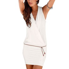 Vestido chica 2 colores blanco o negro