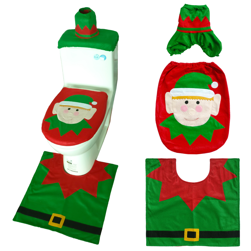 Home & Garden Self-Conscious Christmas Table Fork Knife Bag Pouch Pocket Tableware Dinner Cutlery Decor Tableware Nonwevens Santa Claus Deer Decor A Wide Selection Of Colours And Designs Dinnerware