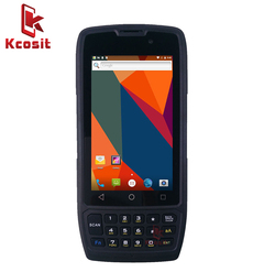 Oryginalny skaner Kcosit K42 Android 1D 2D ręczny skaner kodów kreskowych laserowy Terminal PDA bezprzewodowy Wifi wodoodporna 4