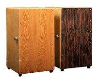 Одежда высшего качества цвет древесины cajon стороны Барабаны музыкальный ударный с Барабаны сумка Бесплатная доставка