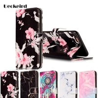 Multicolor For Apple iphone 7 Case Leather Filp Wallte Cover For iphone 7 Plus Case Built-in Bracket Personality Phone Cases