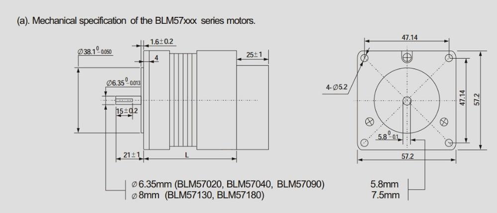 BLM57180-1000+ACS806 dimension