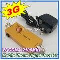 Melhor Preço!!! Mini 3G W-CDMA Repetidor Reforço de Sinal de Telefonia móvel UMTS 3G WCDMA 2100 Mhz Cell Phone Signal Repetidor Amplificador