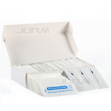 100Pcs Disposable Sterilized Professional Permanent Makeup Needles 5RL For Tattoo Eyebrow Pen Machine Needles 0.35mm*50mm