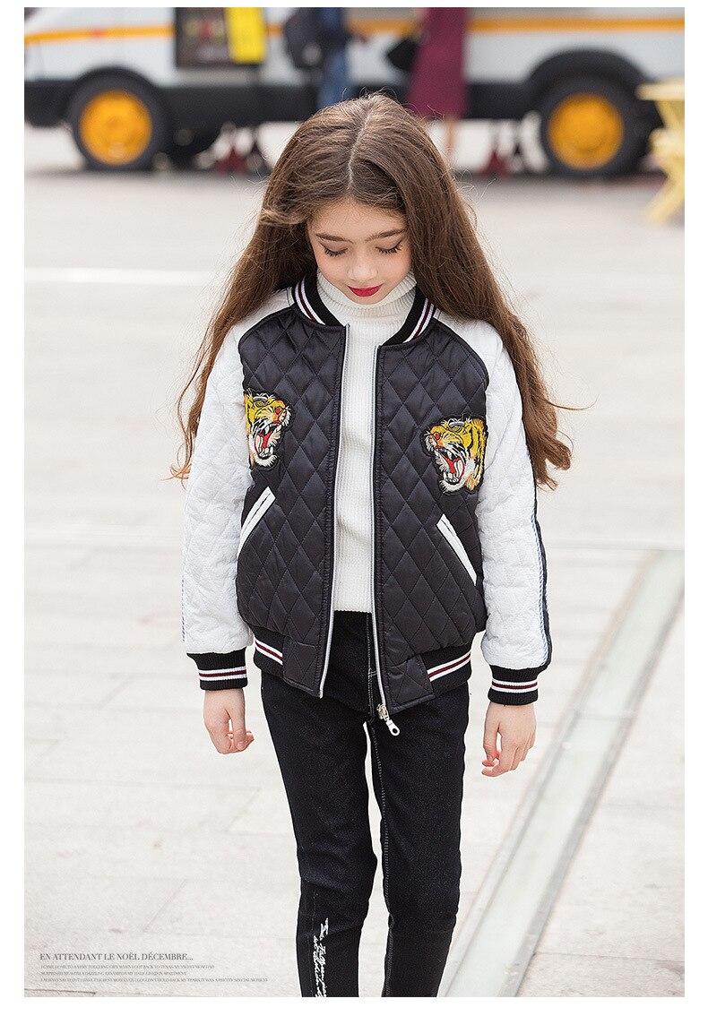 74b87a6a0d8 teenage girl jackets winter 2018 child jacket little girls outerwear ...