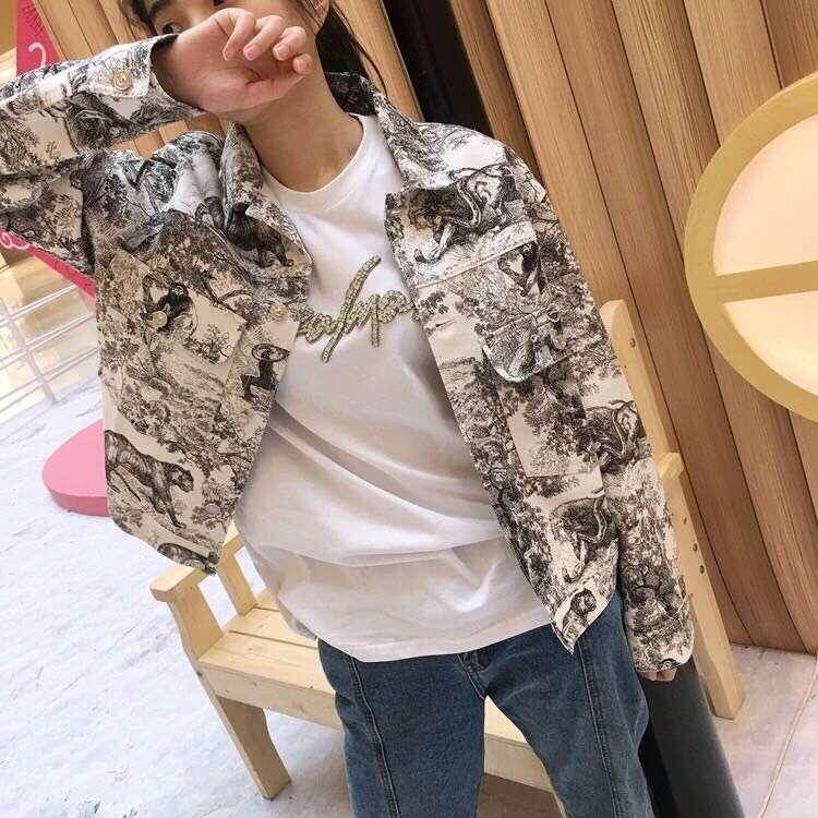 Manches Manteaux Automne Demin Streetwear Style Nouvelle Court Déchiré Printemps Veste Revers Femmes Longues À wzxvStFqKZ