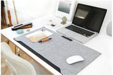 Fühlte Schreibtisch setzt Matte Schreiben Pad Tischset Schreibtisch Matte Matte Pad
