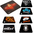 Rubber Large Size 450*400*4mm Anti-Slip PC Computer Laptop Gaming Mouse Pad Mats Free Shipping