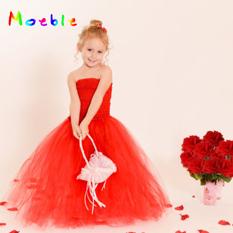 Vestido de niña de flores vestido de tutú para niños vestido de - Ropa de ninos