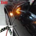 2 pcs estilo do carro Virando Signal Indicator Light Para Mercedes W211 W203 W205 W210 W220 AMG W212 W204 Mazda 3 6 CX-5 2 acessórios
