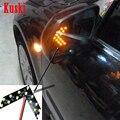 2 unids car styling Encendido Indicador de Señal de Luz Para Mercedes W211 W203 W205 W210 W220 AMG W212 W204 Mazda 3 6 CX-5 2 accesorios