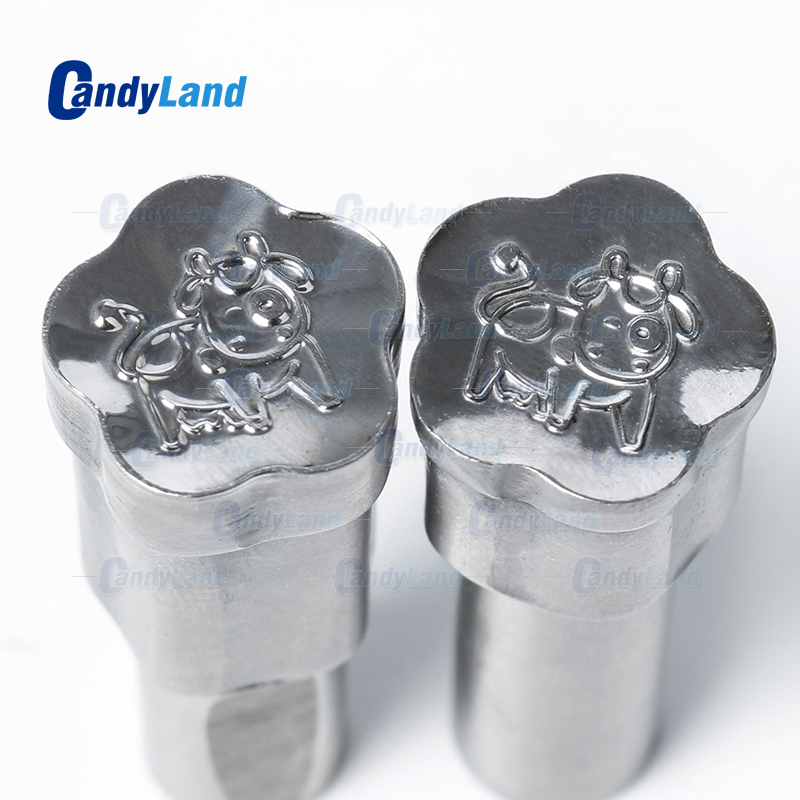 CandyLand Cow Milk Tablet Die 3D Punch Press Mold Candy Punching Die Custom Logo Calcium Tablet Punch Die For TDP0 MachineCandyLand Cow Milk Tablet Die 3D Punch Press Mold Candy Punching Die Custom Logo Calcium Tablet Punch Die For TDP0 Machine