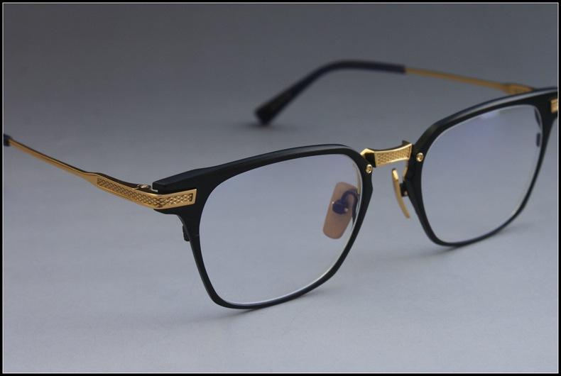 dff618b169a 2068 Fashion Brand Pure Titanium Square Glasses Frame UNION Full ...