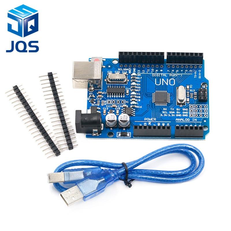 UNO R3 Development Board ATmega328P CH340 CH340G For Arduino UNO R3 With Straight Pin HeaderUNO R3 Development Board ATmega328P CH340 CH340G For Arduino UNO R3 With Straight Pin Header