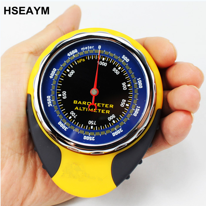 HSEAYM Multifunction LCD Digital Altimeter Barometer Thermometer Compass Elevation Table