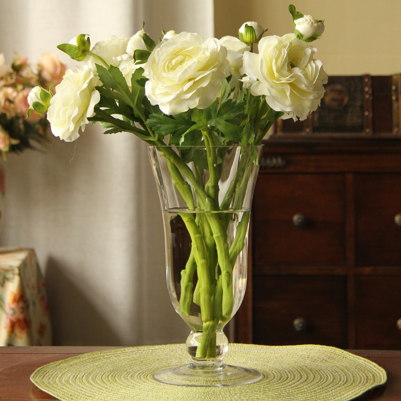 American Country Flower Simulation Artificial Flowers Silk