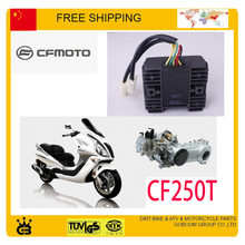 CF moto GY6 250CC RECTIFIER CFMOTO PARTS CF250T WATER COOLED engine accessories free shipping