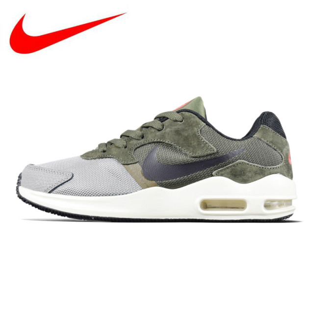 on sale 78489 50d2c Original NIKE AIR MAX GUILE Men s Running Shoes, Army Green Black,  Breathable Lightweight Shock-absorbing 916768 002 916768 003